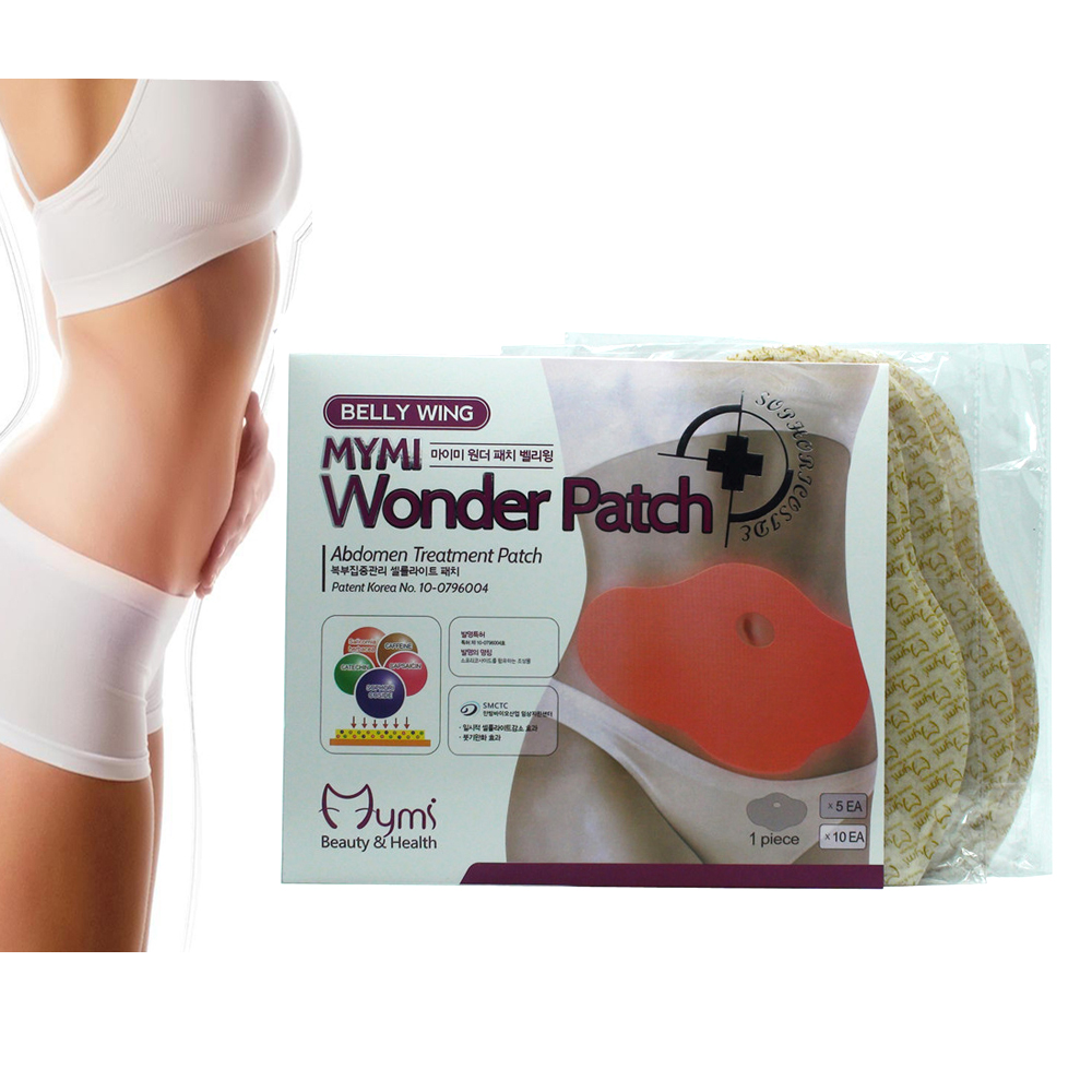 15Pcs/Bag MYMI Wonder Slimming Patch Weight Loss Navel Sticker Fat burning Slim Patch Cream Plaster Body Massager C322