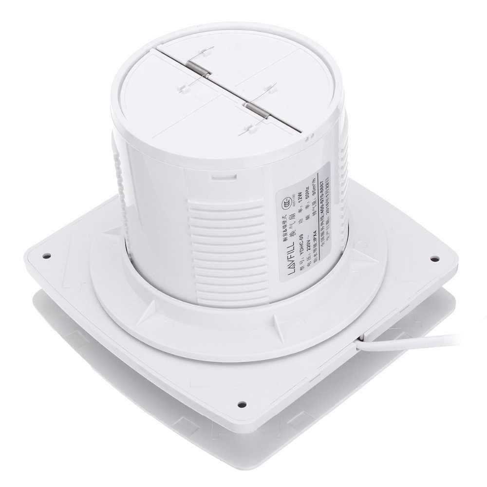 Düşük Gürültü Ventilador 12-18 W Vantilatör 220 V Güç Tasarrufu Fan ABS Ev Havalandırma Banyo Garaj duvar tipi Fan Banyo tuvalet