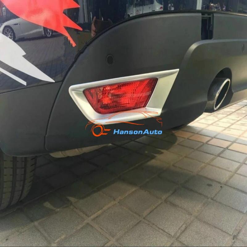 Styling de voiture pour Jaguar F-Rythme accessoires X761 2016 2017 abs chrome antibrouillard Arrière lumière de couverture tim cadre protecteur gardes de voiture autocollants