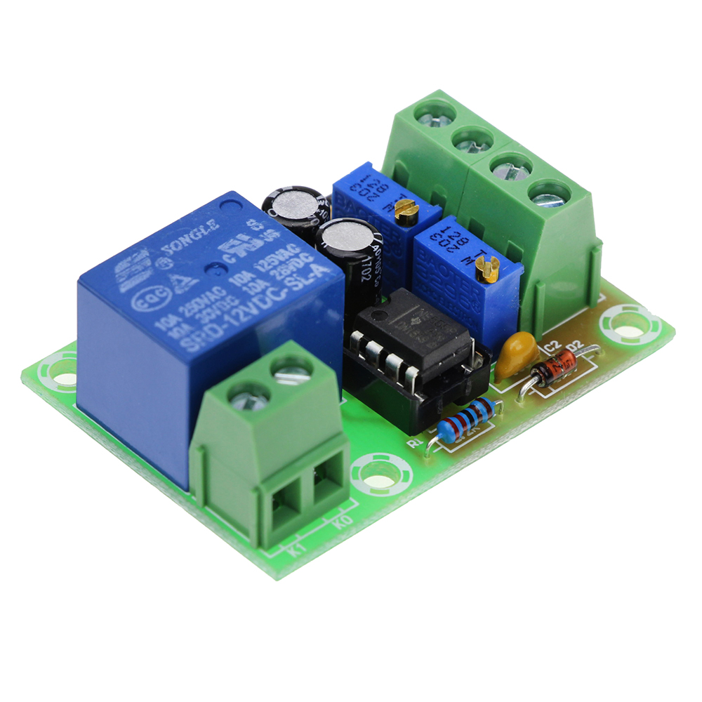 12V battery charging control board XH-M601 intelligent charger power control panel automatic charging power xh m603 li ion lithium battery charging control module battery charging control protection switch automatic on off 12 24v