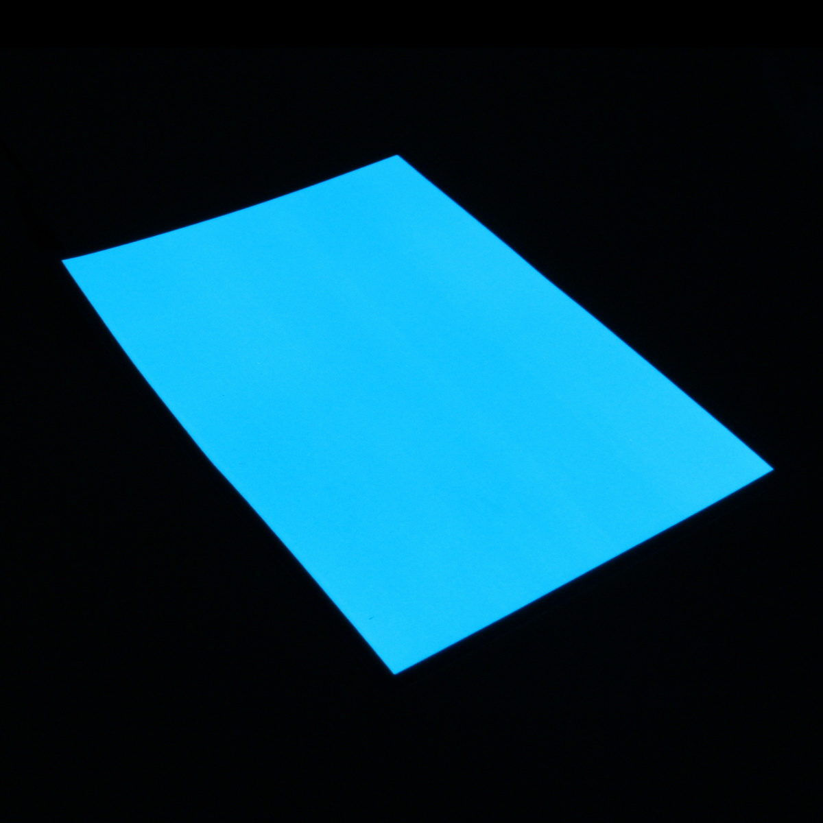 Actuator 12V // A4 EL Panel Electroluminescent Cuttable Light Paper Neon Sheet