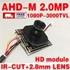 1920 1080P AHD 2 0MegaPixel 3000tvl Finished H 264 Digital HD Camera Module Chip 2 8MM