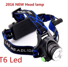2016 Rushed Hot Sale Ccc Farol Bike Ql001 Zoom Cree Led Head Lamp Xm-l T6 1000lm Headlight For 1/2×18650 Rechargeable Batteries