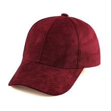ddff3772fbf 30pcs Lot Men Plain 6 Panel Suede Baseball Caps Fashion Women Blank Base  Ball Strapback Hats for Spring Autumn Wholesale Cap