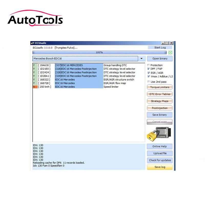 ECUSafe 2.0 OBD ECU Program Car Obd2 Diagnostic Tool Software For Kess V2 Ktag