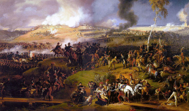 Resultado de imagen para A painting of the The Battle of Moscow 1812