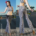 2016 новый Зебра танец живота костюм танец живота костюмы танец живота костюм оптовая Высокое