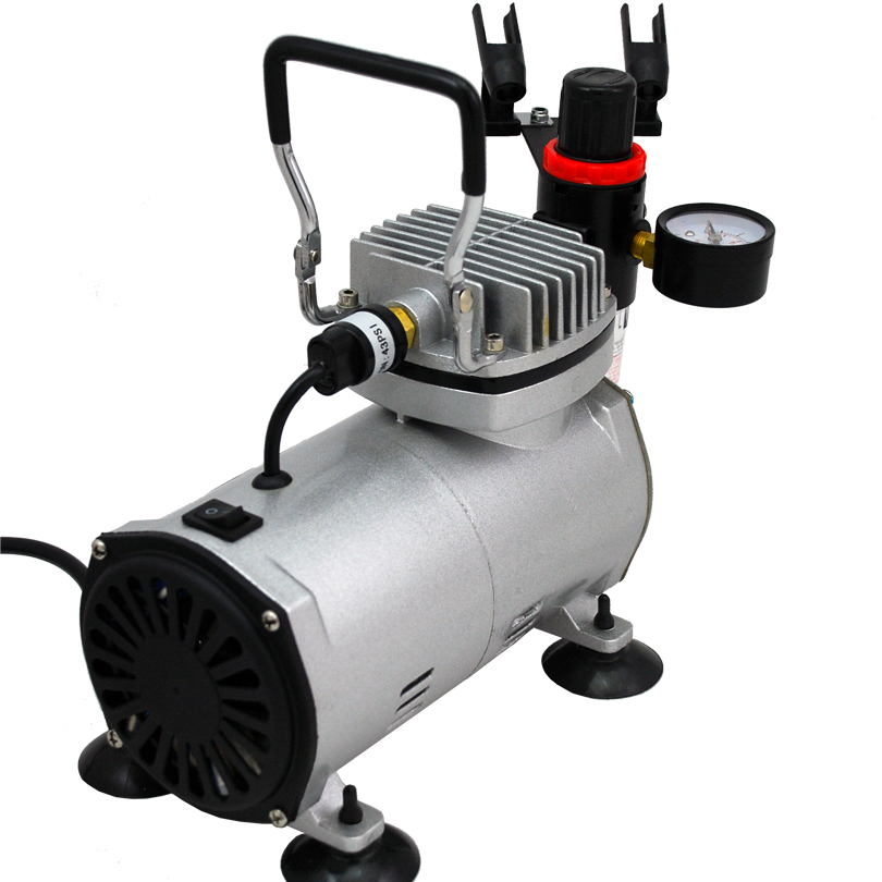 Premium 3 Airbrushes Cake Kit with Air Compressor and Air ...