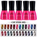 Perfect Summer Magnetic Gel Varnish Cat Eyes UV LED Soak off Gel Nail Polish Long Lasting UV Gel Polish