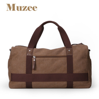 Muzee The Large Capacity Handbag Canvas Travel Package Inclined Shoulder Bag ME 1356