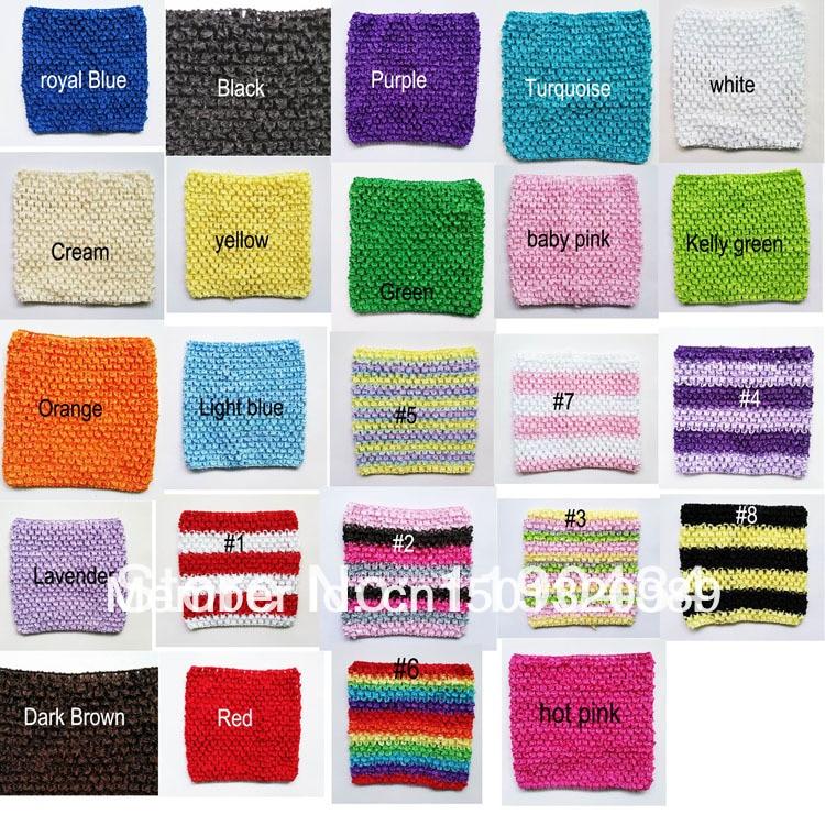 Crochet Tutu Tube Top 6inch Tutu Top Bands Crochet Headband Girls
