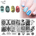 Hot Sale 16PCS/lot Konad Different Design Stamp Image Nail Art Stamping Plate DIY Image Plate Template Free Shipping   #WJ118