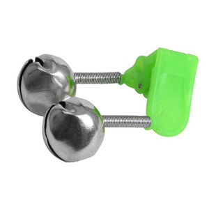 Image 3 - 2 Pcs Sea Fishing Rod Bell Accessories Tip Bite Lure Alarm  Fish Double Bell Ring