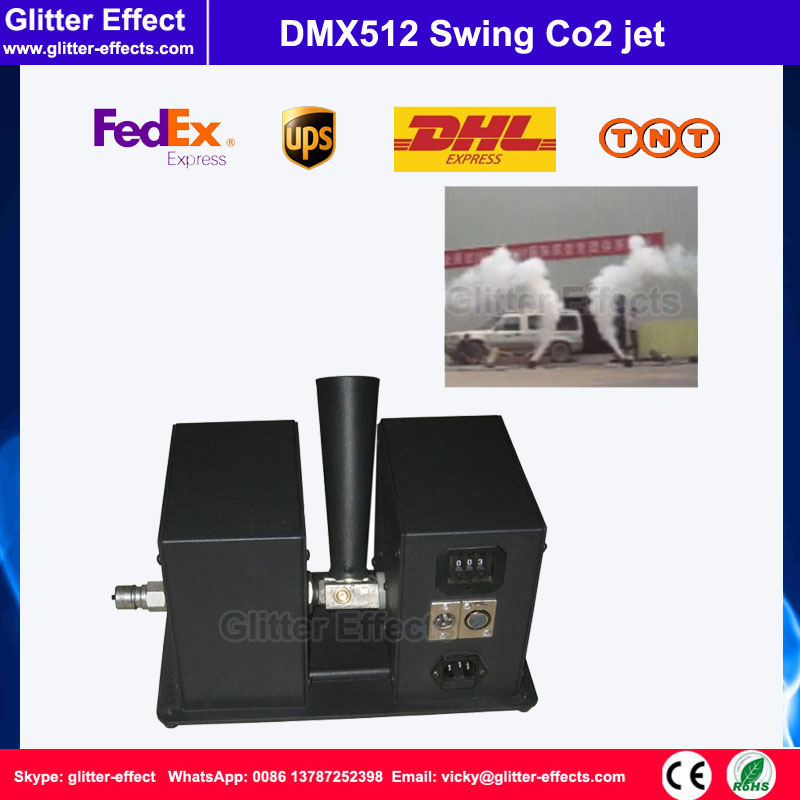 Swing Co2 jet Special Effect stage show DJ club sway column fog machine Theater swing Co2 machine swing co2 jet special effect stage show dj club sway column fog machine theater swing co2 machine