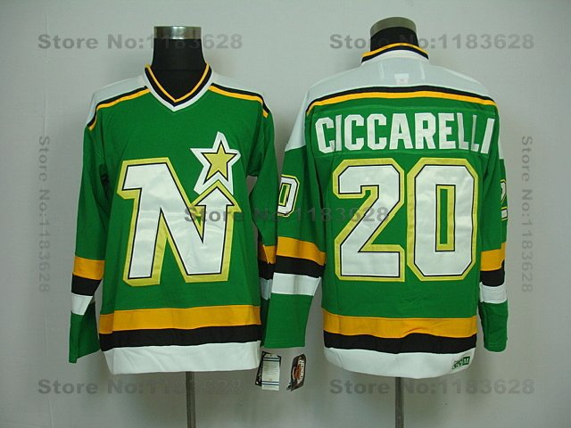 ... green ccm wholesale 20 dino ciccarelli jersey vintage minnesota north stars  jersey dallas ... db350c758