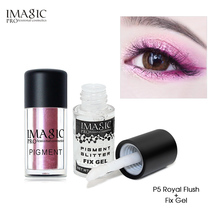 IMAGIC new listing charming eye shadow glitter chameleon metal loose powder pigment beauty eyeshado