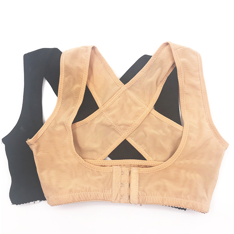 Posture Corrector Women Back Support Belt Orthotic Face Lift Tool 4