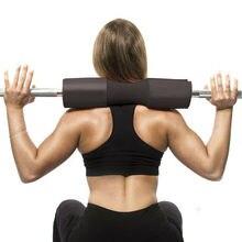 Поролоновый мягкий барный чехол-накладка для занятий тяжелой атлетикой, приседаний плечевой протектор Мягкая Подушка для тренажерного зала шеи Задняя поддержка защитная накладка