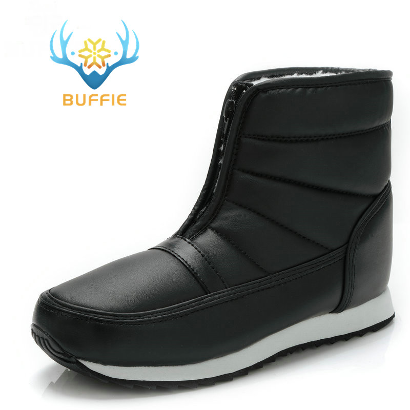 men winter boots big yards short style snow boots warm fur waterproof upper antiskid outsole father grandfather boy winter boots boot