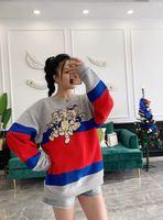 Женские модные толстовки и кофты 2018 взлетно посадочной полосы Элитный бренд Европейский дизайн вечерние Стиль Женская одежда WD01113