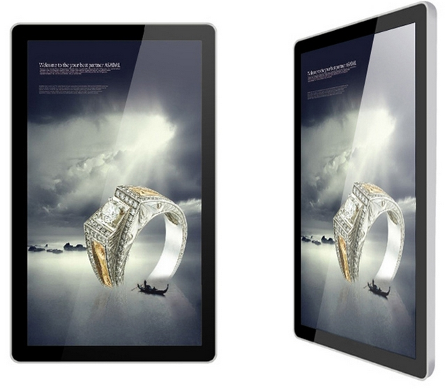 55 65 POUCE android écran tactile kiosque avec Wifi/3G Joueur de Publicité D'affichage Numérique Vidéo Interphone