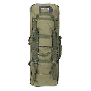 Image 5 - Tático ombro mochila resistente náilon rifle arma coldre bolsa 118cm saco de desporto ao ar livre caça arma saco