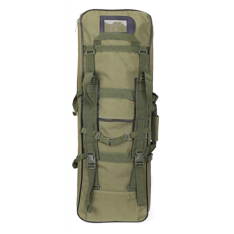 Image 5 - Tactical Shoulder Backpack Heavy Duty Nylon Rifle Gun Holster Pouch 118cm Outdoor Sport Bag Hunting Gun Bag-in Holsters from Sports & Entertainment