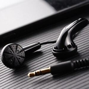 Image 3 - HANGRUI Qian25 HiFi Earphone Dynamic In Ear Earphones with Flat Head Plug Sport headset Bass Earbuds For iphone Xiaomi MP3 MP4