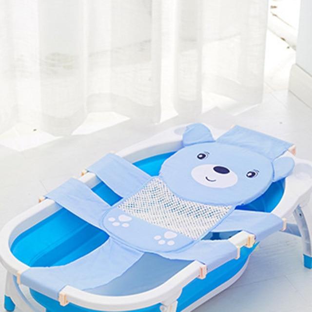 Online Shop Kids Newborn Baby Foldable Baby Bath Tub Baby Shower ...