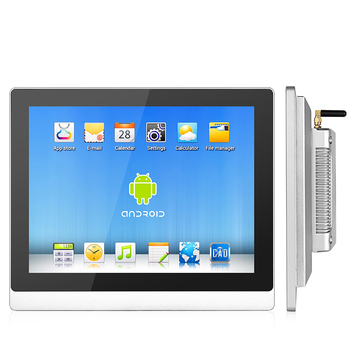 Industrial ip65 waterproof 17.3 inch embedded computers 21.5 inch panel pc FHD high brightness with ethernet port