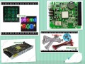 free shipping DIY LED display 20 pcs P6 outdoor SMD Full Color Led Module (192*192mm)+ RGB controller+power supply