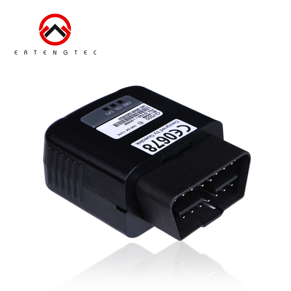 Car GPS OBD Tracker GSM Locator GPRS OBD Vehicle Tracking Device OBDII Queclink GV500 Quad Band U-blox 8V-32V DC 130mAh Realtime smallest sim800l quad band network mini gprs gsm breakout module