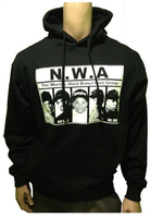 NWA Rap Nhóm Retro Thời Trang Dạo Phố Phù Hợp Với Jordan Sneakers Mens Áo Đen Áo Len Tùy Chỉnh Người Đàn Ông Dài Tay Áo Thun Kích Thước S-3XL