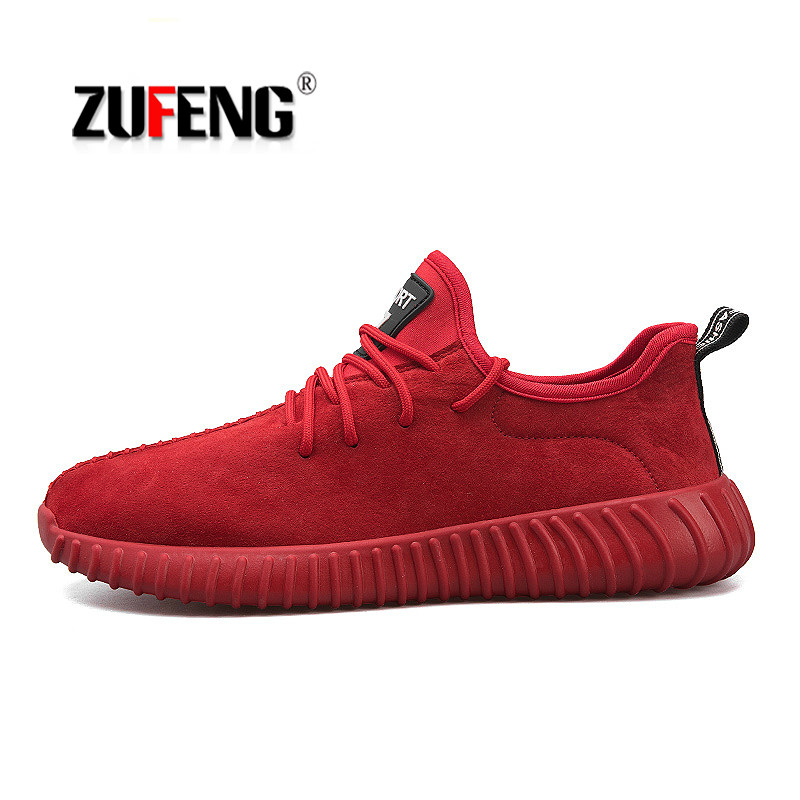 2018 Spring Men Sports Shoes Genuine Leather Running Shoes Classic Outdoor Comfortable Sneakers Zapatillas Deportivas Hombre