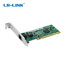 LR LINK 7200mt 10/100/1000 mbps pci porta dupla rj45 lan cartão gigabit ethernet placa adaptador de rede para pwla8390mt compatível