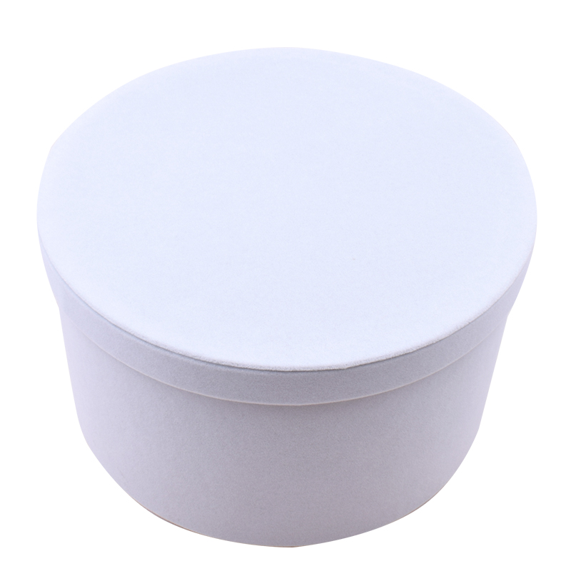 Hot Sale Round Carton Cylinder Cardboard Hat Flower Boxes With Lids