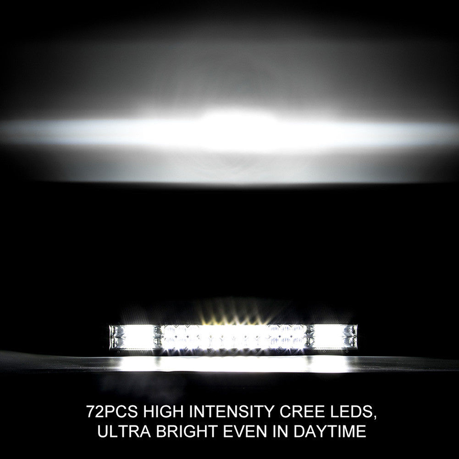 8d Lens 20 216w Straight Offroad Led Light Bar For 4x4 Truck Atv Aliexpresscom Buy 43 Inch 288w Cree Work Wiring Kit Product Description
