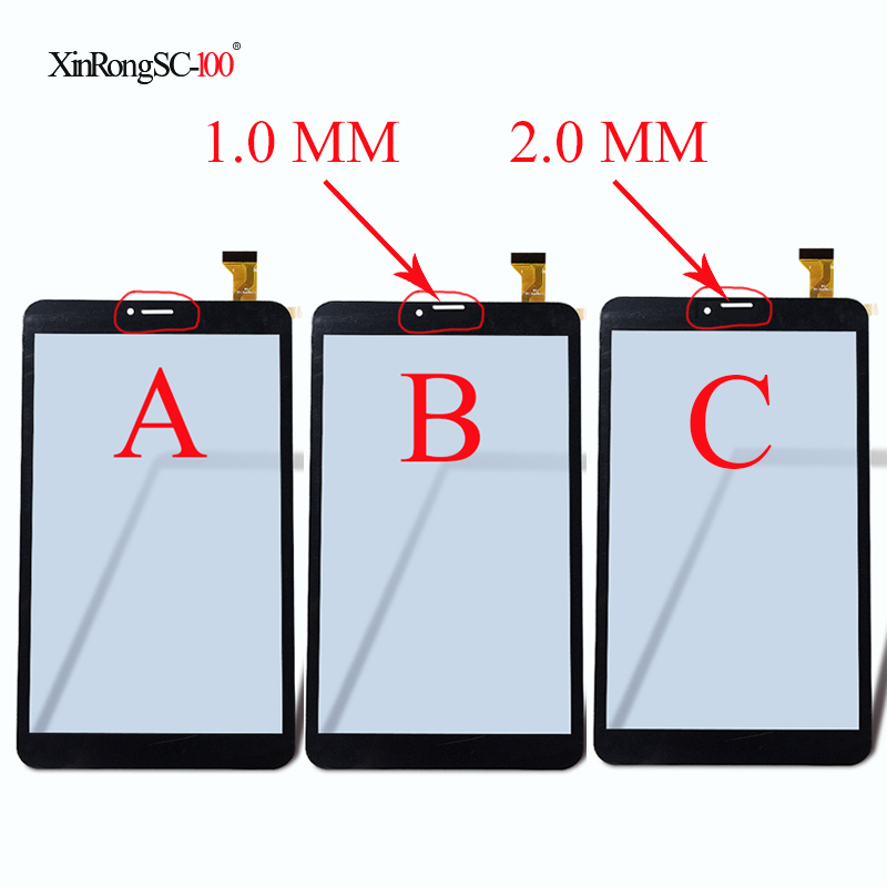 8 ''pollici Tablet Digitizer XLD808-V0 DP080133-F1 YJ350FPC-V0 FHX YJ350FPC-VO FPC-FC80J286-00 Sensor Tablet pannello Touch screen