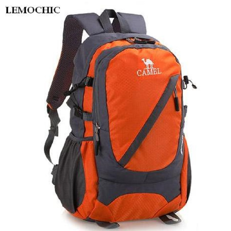 LEMOCHIC High Outdoor sports bag 35l wear resistant waterproof travel Climbing  rucksack Sightseeing camping Hike backpack ride lemochic high quality sport mountaineer travel male bag waterproof canvas motorcycle climbing rucksack fishing hunting backpack