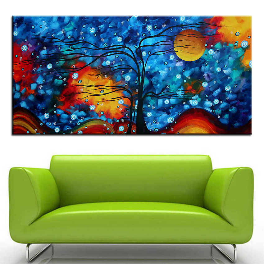 Large size Printing Oil Painting whimsical original Wall painting ...