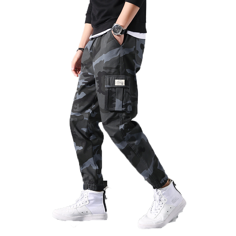 Harem Pants Men Jogger Streetwear Trousers Male Camouflage Hip-Hop Spring Hombre