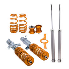 Coilover for VW UP for Seat Mii Skoda Citigo Adjustable suspension lowering kit Coilovers Spring Struts Shock Absorber(China)