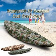 قارب ماء غطاء المهنية العالمي غطاء كاياك زورق قارب مقاوم للماء UV مقاومة الغبار غطاء التخزين درع غطاء قارب