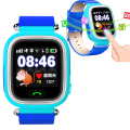 JM12 GPS Smart Watch Kid Safe Wristwatch SOS/GSM/WIFI Call Location Locator Tracker For Child Anti Lost Monitor Baby Children
