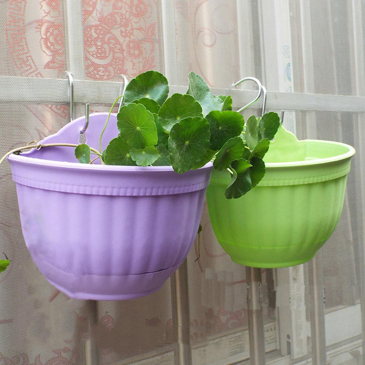 Wall Hanging Flower Pots popular metal wall hanging baskets-buy cheap metal wall hanging