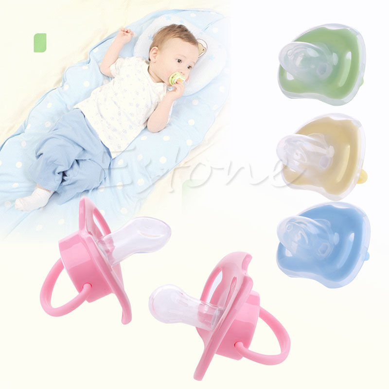Baby Newborn Silicone Nipple Soother Pacifier Infant Orthodontic Dummy Teether