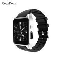 Coopkony Android Smart Watch 3G Phone Camera Smartwatch Bluetooth SIM WIFI GPS Heart Rate Monitor Wearable Devices Wristwatches