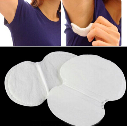 2Pcs/set Disposable Absorbing Underarm Sweat Guard Pads Deodorant Armpit Sheet Dress Clothing Shield Sweat Perspiration Pads