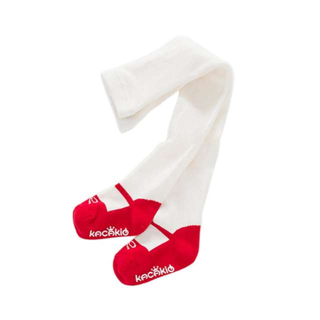 US $3.31  Zimowe ciepłe słodkie księżniczki maluch dziewczynek słodkie miękkie bawełniane rajstopy dziecięce rajstopy pończochy spodnie w Rajstopy i
