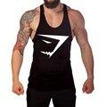 Personality design Mens Summer Slim Fit vest Men Tank Tops Clothing Undershirt Fitness